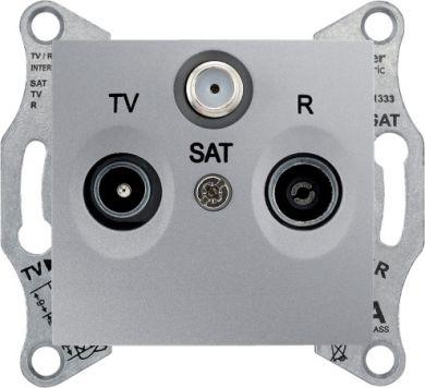 f378df6161b TV-R-SAT ending outlet 1dB aluminium Sedna