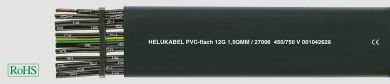 Helukabel Cable PVC-Flach 4x2,5 HK 27007